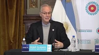 """EL MINISTRO GOLLÁN REITERÓ QUE """"NO VOLVEMOS A LA NORMALIDAD HASTA QUE NO HAYA VACUNA"""""""