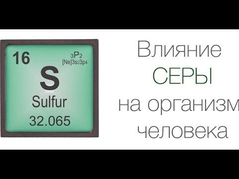 СЕРА незаменима при заболевании СУСТАВОВ (Макроэлемент Сера, S Sulfur) / Фролов Ю.А. и Бутакова О.А.