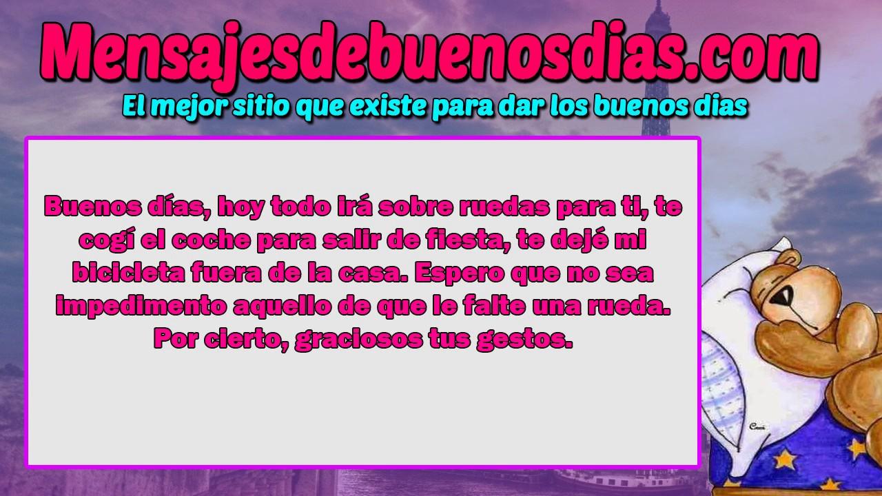 Mensajes De Buenos Dias: Mensajes Y Frases De Buenos Dias Graciosos DE MUCHA RISA Y