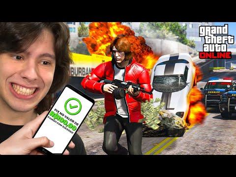 TE DOU 100 REAIS SE CONSEGUIR ME MATAR NO GTA 5 ONLINE!!