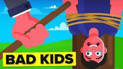 Horrible Ways Parents Used To Punish Kids