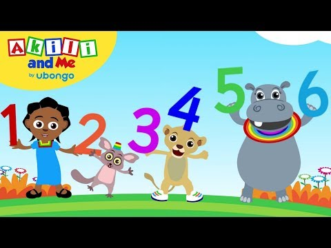 Time to Count! One, two, three! - Educational Songs from Akili and Me
