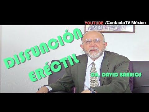 Sex�logo Dr. David Barrios: DISFUNCI�N ER�CTIL
