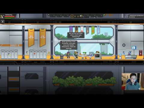 Starbound Casual Playthrough 10 - How to fix your ship