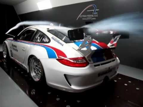 PORSCHE IN A2 WIND TUNNEL