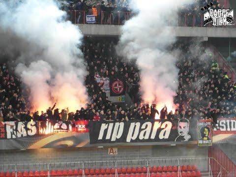 Standard Lüttich vs Ajax Amsterdam 1:1 - Support/Pyro