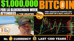 WOW!!! $1,000,000 BITCOIN FOR LA BLOCKCHAIN WEEK VISITORS‼️ THE BEST CURRENCY LAST 1200 YEARS 🤯 ⁉️