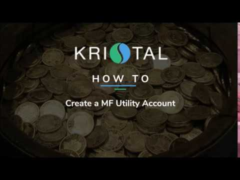 How to open a Mutual Funds Utility account for India investors