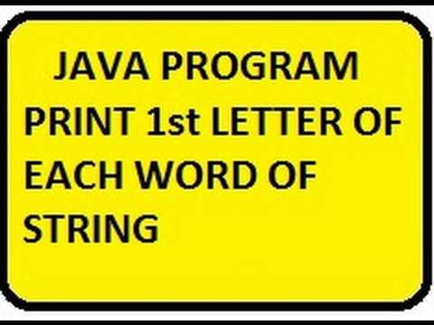 WAP to input a name and print its initials as Input Manas Kumar Halder  Output: (i) M.K.H.