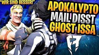 Apokalypto Mail DISST Ghost Issa! | Trymacs SNIPER Pro😱 | Fortnite Highlights Deutsch