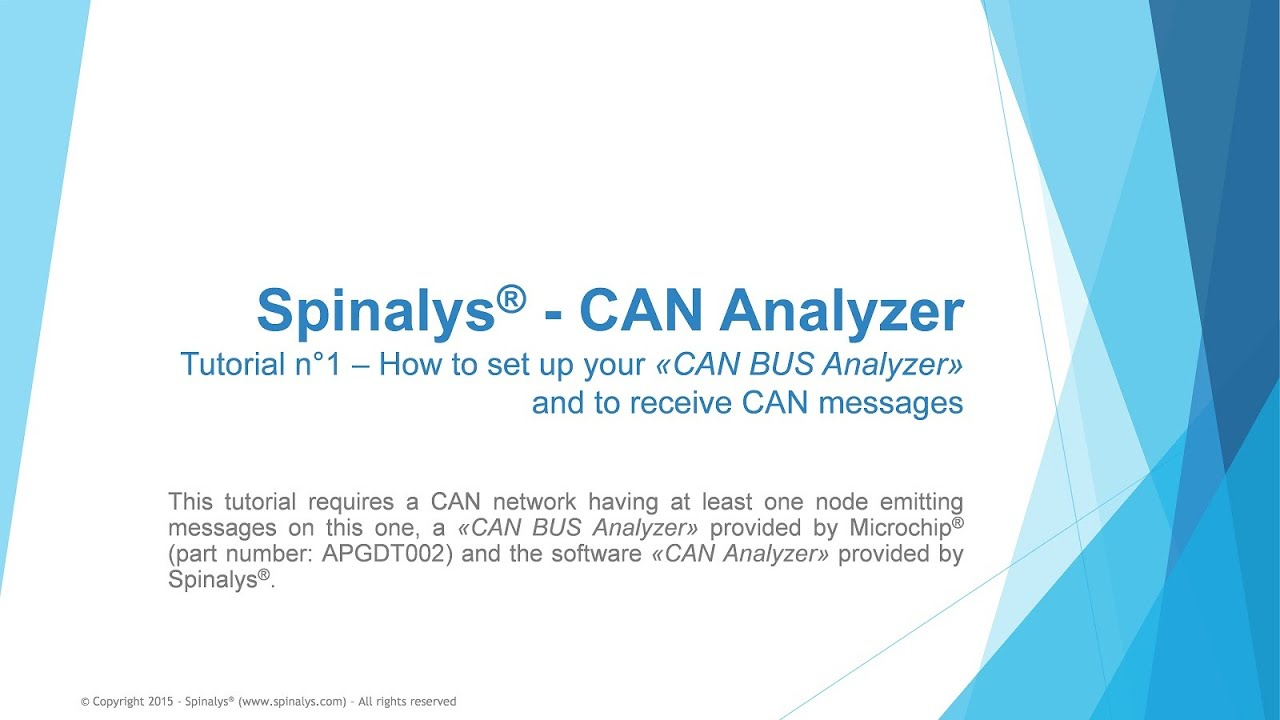 CAN Analyzer Tutorial 1 EN xvid by SPINALYS