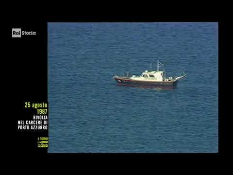 §.2/- (Giorno & Storia) 25 agosto 1987 isola d'Elba, penitenziario di Porto Azzurro: rivolta