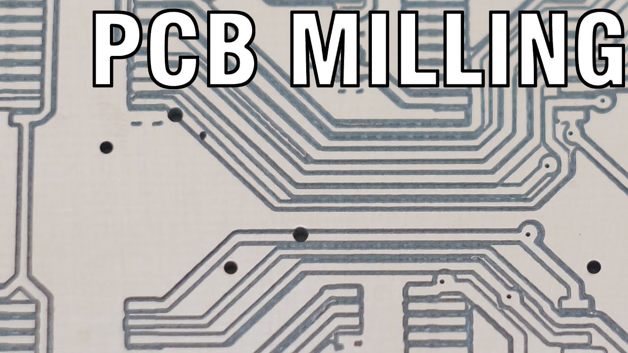 Milling Double Sided Pcbs On A 3040 Cnc Router Youtube Pcb 2layer Printed Circuit Boards Fabrication Of