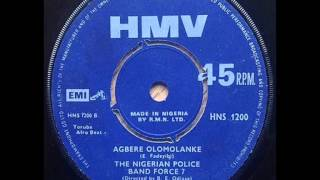 The Nigerian Police Band 'Force 7' : agbere olomolanke
