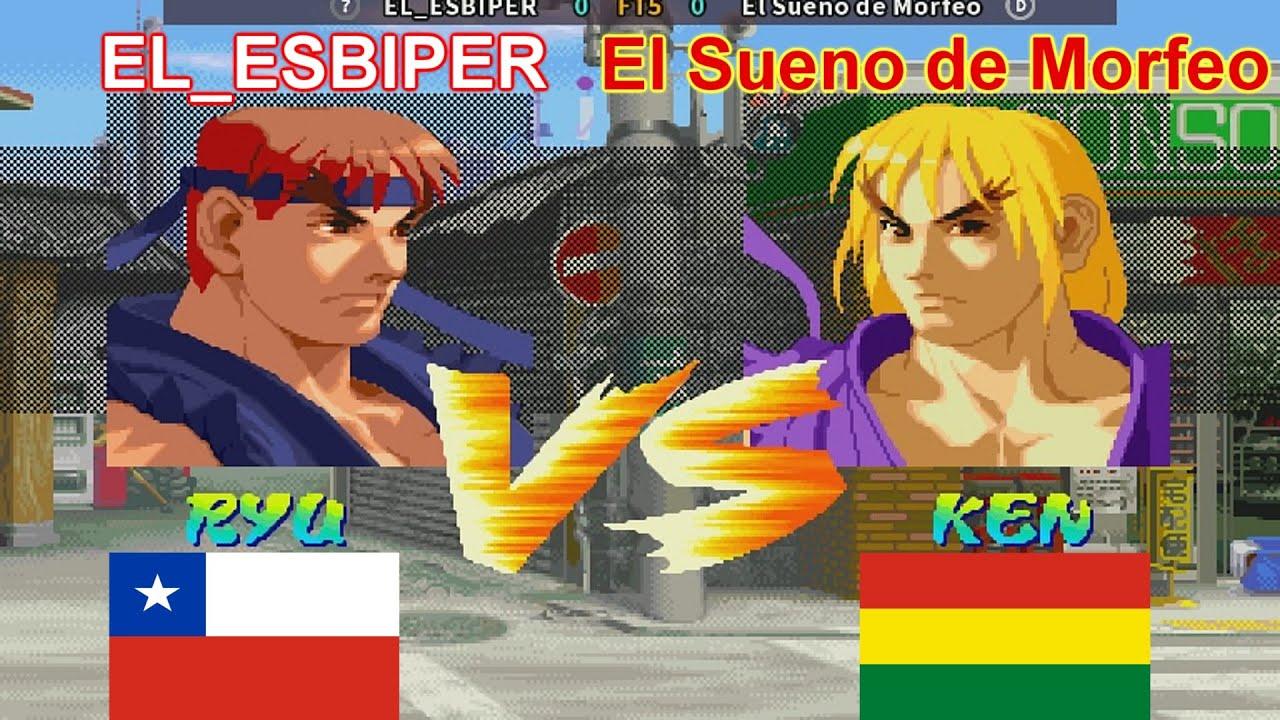 Street Fighter Alpha - EL_ESBIPER vs El Sueno de Morfeo FT5