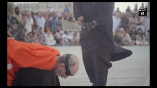 Isis Releases New Video Terrorists Behead Two Magicians Publicly
