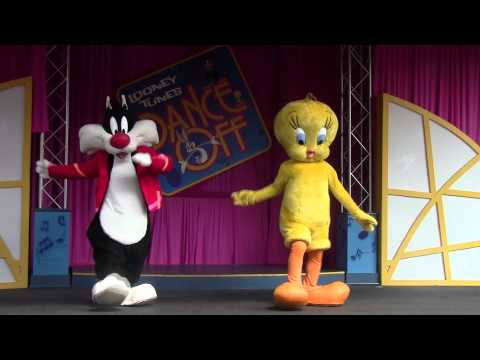 Looney Tunes Dance Off Six Flags Over Georgia 2011 - Part 1 of 2