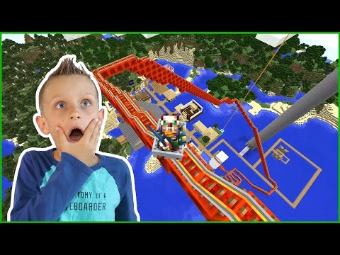 Riding The EPIC ROLLER COASTER