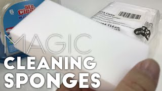Comparing cheap, generic Magic Cleaning Sponges to Mr. Clean Magic Eraser