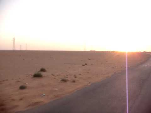 Hitchhiking in the Syrian desert