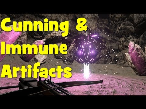 Ark - Ragnarok - How to get the Artifact of the Cunning and Artfiact of the Immune