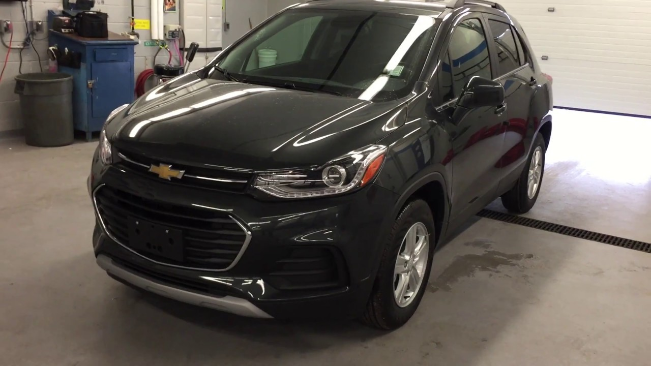 2017 Chevrolet Trax FWD 4dr LT Nightfall Grey Metallic Roy ...