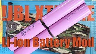 JBL Xtreme Li-ion Battery Mod - The Right Way