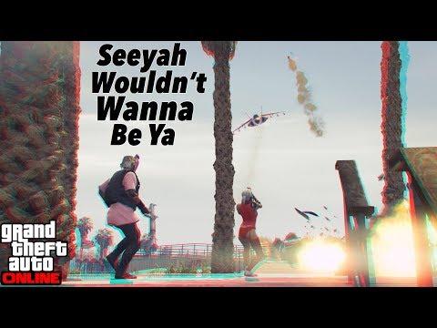 (GTA 5 Online) Jet Warrior Gets RPG'd 9 Times
