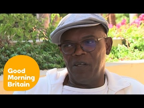 Samuel L. Jackson Doesn't Care About The Brangelina Divorce | Good Morning Britiain