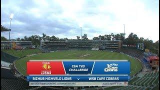 CSA T20 Challenge | Lions vs Cape Cobras