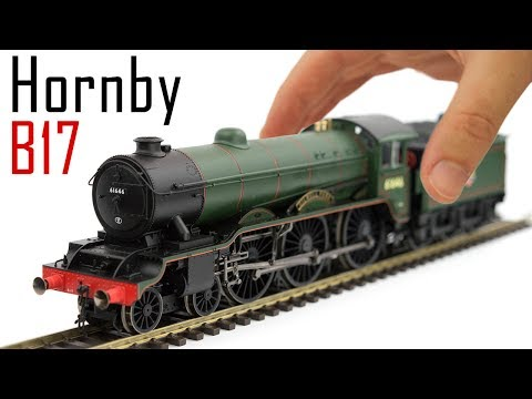 Unboxing the Hornby Class B17
