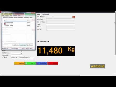 Membuat Aplikasi Jembatan Timbang Dengan Php