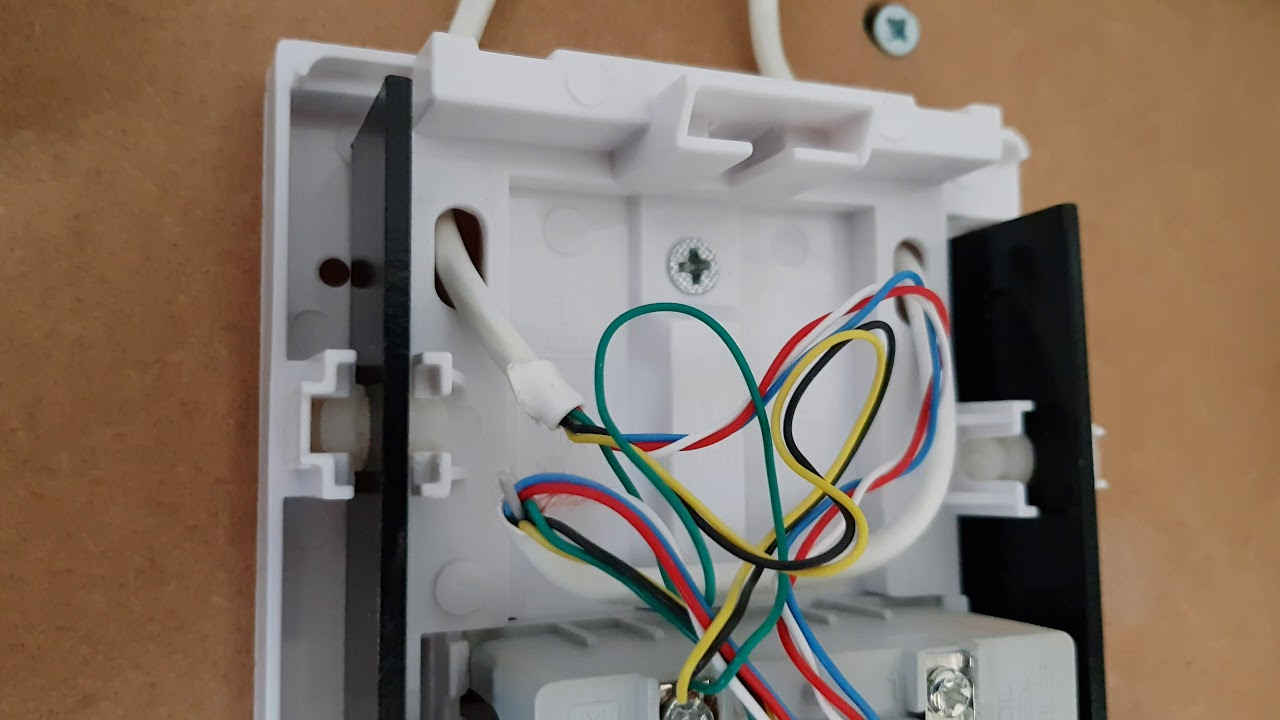 ring doorbell pro uk installation working on byron 776 240v 8v mains wiring a doorbell transformer uk [ 1280 x 720 Pixel ]