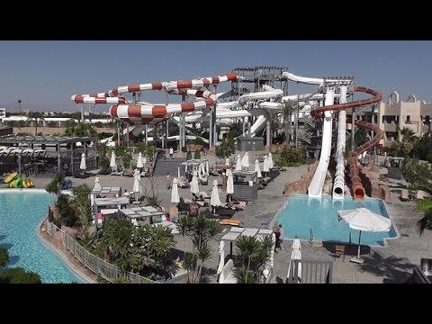 CORAL SEA WATERWORLD , New Water Park , Egypt 2015