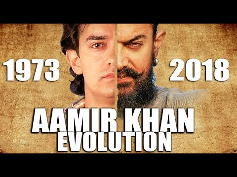 AAMIR KHAN Evolution  (1973 - 2018)