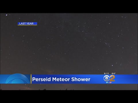 Perseid Meteor Shower Starts Tonight