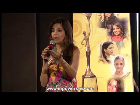 Sugandha Mishra mimics Rakhee, Sharmila, Sonia & Lata Mangeshakar