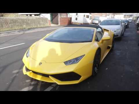 LAMBO JOE! **EXCLUSIVE** BILLY JOE SAUNDERS TAKES iFL TV IN HIS YELLOW LAMBORGHINI AROUND SHEFFIELD
