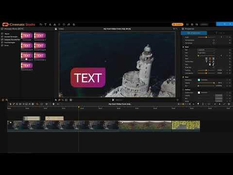 Cinematic Studio - Getting Started Tutorial (3.8.36+)