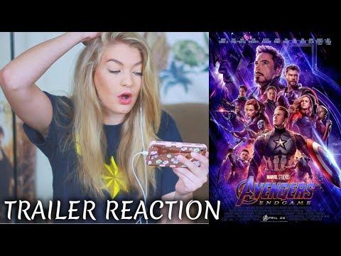 AVENGERS: ENDGAME | Trailer REACTION! ♡