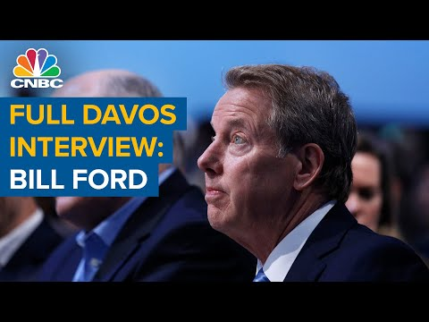 Watch CNBC's full interview with General Atlantic CEO Bill Ford at Davos