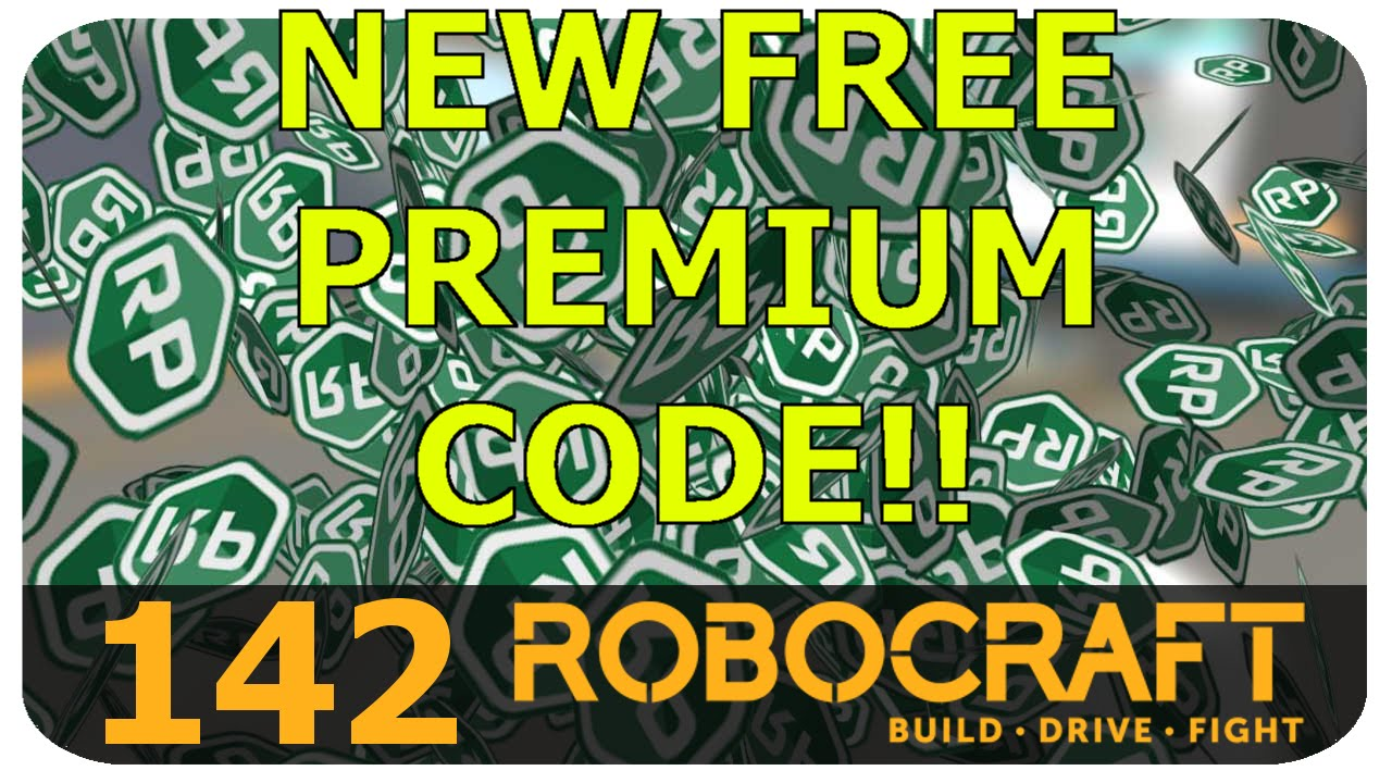 New Free Premium Code!! Robocraft - YouTube