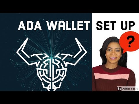 How To Set Up ADA (Cardano) Wallet