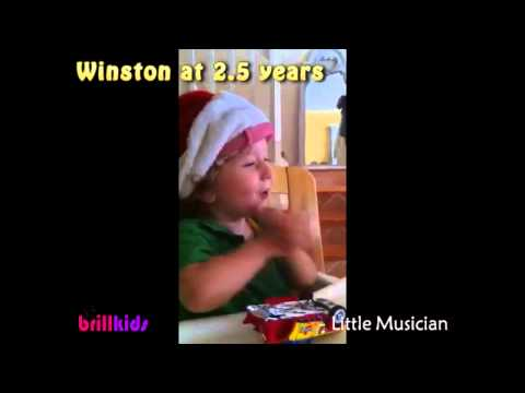 Toddlers Enjoying Little Music...