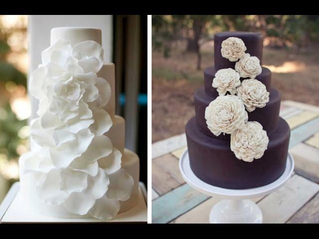 Торты свадебные  видео 35