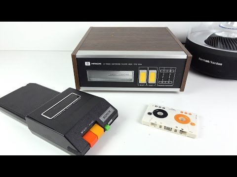 Car Stereo Tape Adapters - 8-Track to Cassette to MP3