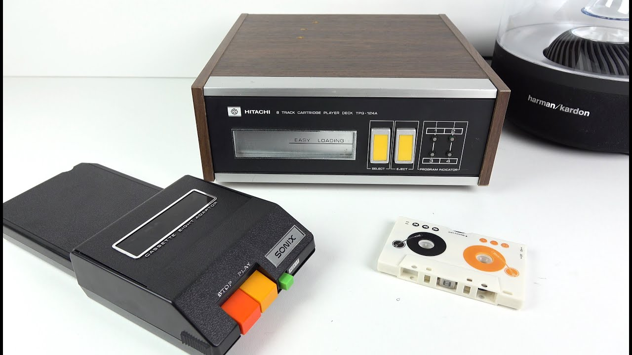 Car Stereo Tape Adapters 8 Track To Cette Mp3