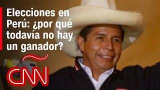 Pedro Castillo mantiene ínfima ventaja: Perú aún sin ganador tras elección del 6 de junio