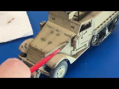 Desert vehicle chipping and weathering in 4K