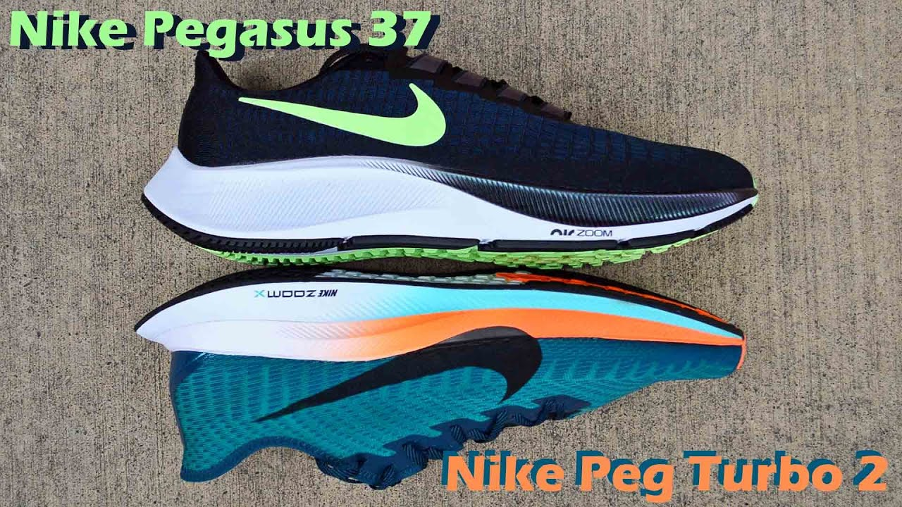 Nike Pegasus 37 First Impressions and Comparison